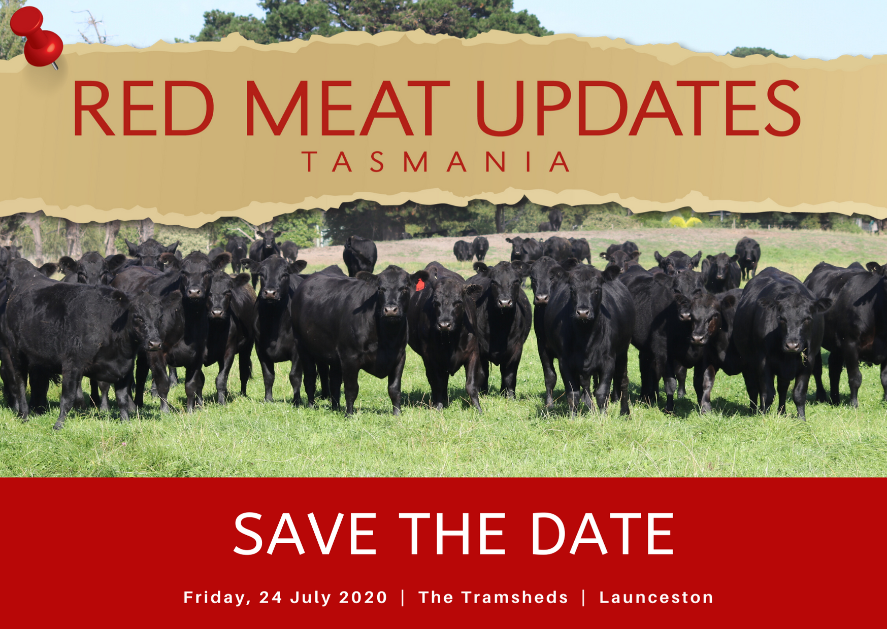 Red Meat Updates 2020 - Save the date